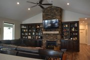 Ranch Style House Plan - 2 Beds 2.5 Baths 2446 Sq/Ft Plan #1060-43 Interior - Family Room