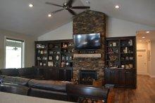 Ranch Interior - Family Room Plan #1060-43