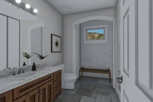 Architectural House Design - Craftsman Interior - Master Bathroom Plan #1060-70