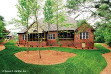 Architectural House Design - Traditional Exterior - Rear Elevation Plan #929-778