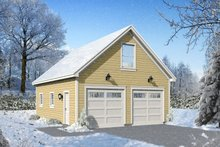 Contemporary Exterior - Front Elevation Plan #932-100
