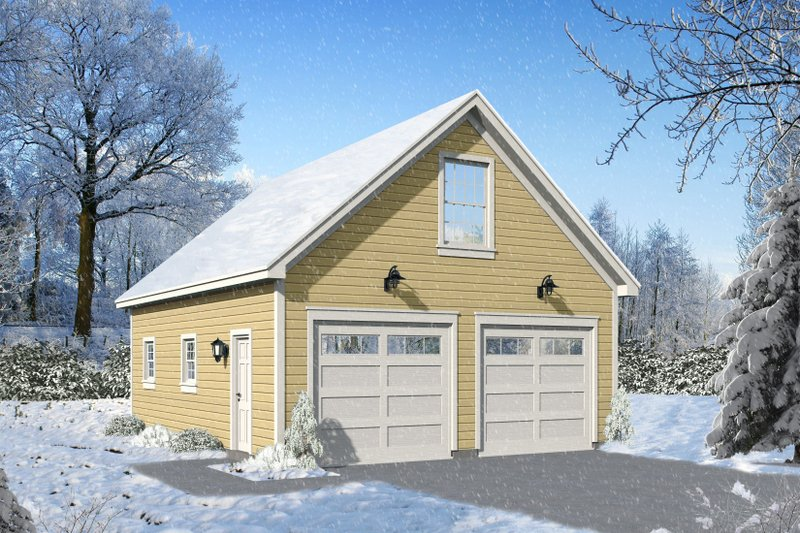 Home Plan - Contemporary Exterior - Front Elevation Plan #932-100