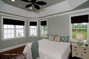 European Style House Plan - 4 Beds 4 Baths 2401 Sq/Ft Plan #929-4 Interior - Master Bedroom