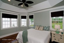 Home Plan - European Interior - Master Bedroom Plan #929-4