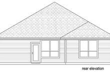 Traditional Exterior - Rear Elevation Plan #84-551