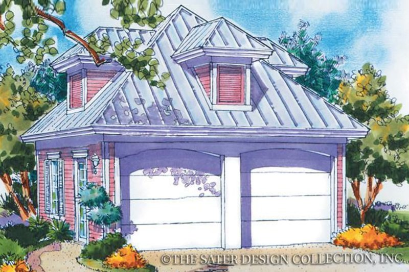 Architectural House Design - Country Exterior - Front Elevation Plan #930-82