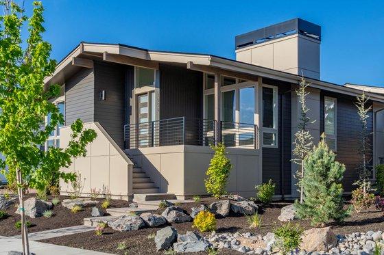 Home Plan - Modern Exterior - Front Elevation Plan #895-110