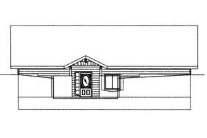 Bungalow Exterior - Front Elevation Plan #117-622