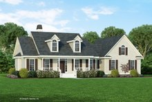 Home Plan - Farmhouse Exterior - Front Elevation Plan #929-1046