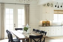Architectural House Design - Traditional Interior - Dining Room Plan #437-83