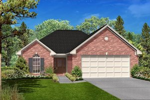 Traditional Exterior - Front Elevation Plan #430-24