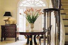 House Design - Colonial Interior - Entry Plan #137-230