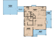 Cottage Style House Plan - 3 Beds 2.5 Baths 1957 Sq/Ft Plan #923-118 Floor Plan - Main Floor Plan