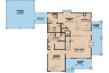 Cottage Floor Plan - Main Floor Plan Plan #923-118