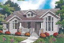 Craftsman Exterior - Front Elevation Plan #48-532