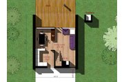 Modern Style House Plan - 2 Beds 1 Baths 709 Sq/Ft Plan #473-3 Floor Plan - Main Floor Plan