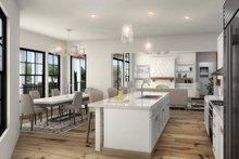 Farmhouse Interior - Kitchen Plan #54-384