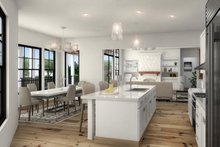 Dream House Plan - Farmhouse Interior - Kitchen Plan #54-384