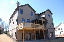 House Design - European Exterior - Rear Elevation Plan #419-236