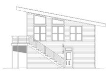 Modern Exterior - Other Elevation Plan #932-40