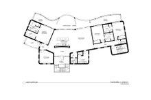 Contemporary Floor Plan - Main Floor Plan Plan #535-18