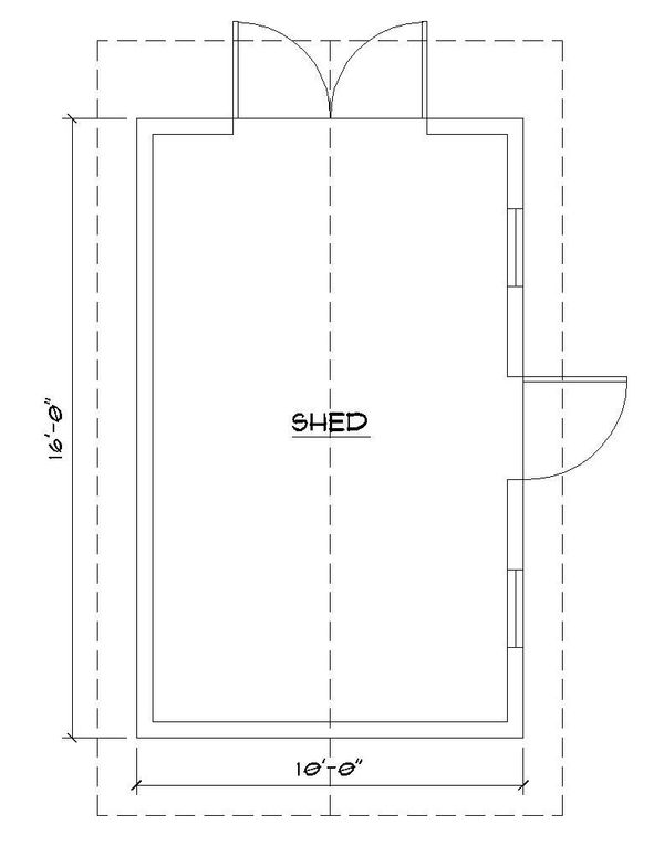 Colonial Floor Plan - Main Floor Plan #922-6