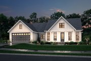 Farmhouse Style House Plan - 3 Beds 2 Baths 1706 Sq/Ft Plan #430-221
