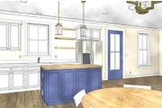 Cottage Style House Plan - 3 Beds 2 Baths 1320 Sq/Ft Plan #44-229 Interior - Kitchen