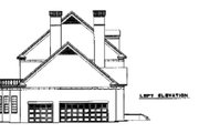 Colonial Style House Plan - 3 Beds 5.5 Baths 4996 Sq/Ft Plan #17-2290 Exterior - Other Elevation