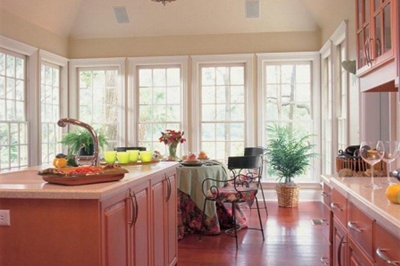 Kitchen - 3100 square foot Southern home