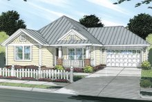 Dream House Plan - Cottage Exterior - Front Elevation Plan #513-2044