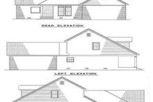 House Plan Design - Traditional Exterior - Rear Elevation Plan #17-261