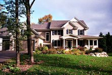 Dream House Plan - Country Exterior - Front Elevation Plan #51-358