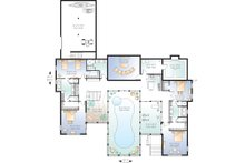 Lower Level  - 9000 square foot Beach home