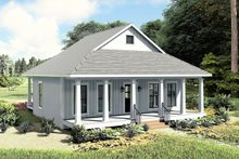 Home Plan - Farmhouse Exterior - Other Elevation Plan #44-222