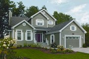 Farmhouse Style House Plan - 2 Beds 2 Baths 1978 Sq/Ft Plan #23-722 Exterior - Front Elevation