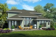 Modern Style House Plan - 4 Beds 3.5 Baths 2790 Sq/Ft Plan #48-939