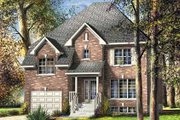 Traditional Style House Plan - 3 Beds 1.5 Baths 2240 Sq/Ft Plan #25-4254 Exterior - Front Elevation
