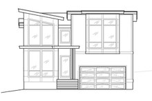 Home Plan - Contemporary Exterior - Front Elevation Plan #1066-81
