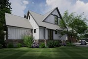 Contemporary Style House Plan - 3 Beds 2.5 Baths 2425 Sq/Ft Plan #120-268 Exterior - Other Elevation