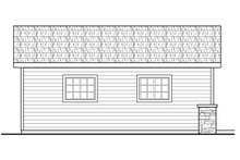 House Plan Design - Traditional Exterior - Other Elevation Plan #124-1099