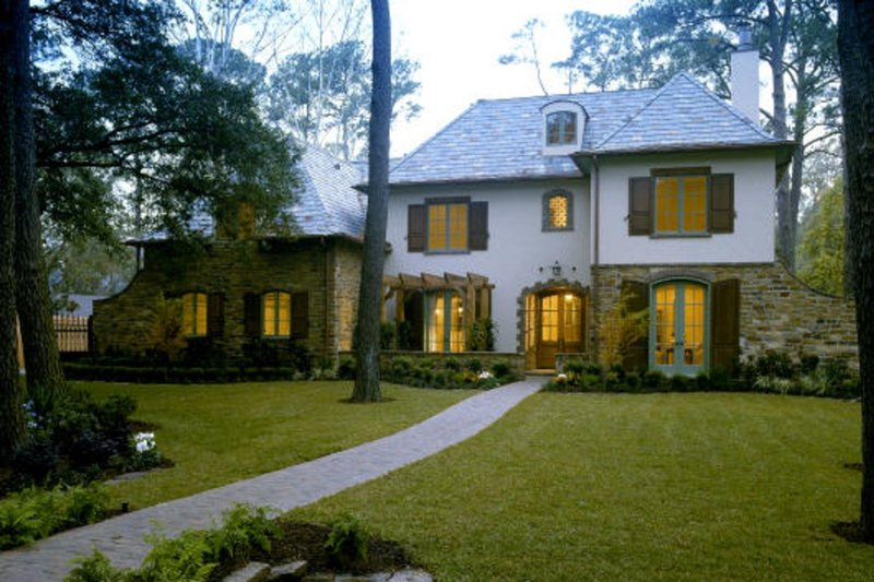 European Exterior - Front Elevation Plan #20-2142 - Houseplans.com