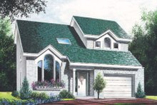 Traditional Exterior - Front Elevation Plan #23-446