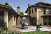 Modern Style House Plan - 4 Beds 5.5 Baths 4887 Sq/Ft Plan #48-468 Exterior - Front Elevation
