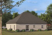 European Style House Plan - 4 Beds 2 Baths 1783 Sq/Ft Plan #923-137