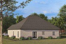 Dream House Plan - European Exterior - Rear Elevation Plan #923-137