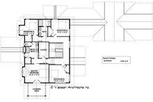 Craftsman Floor Plan - Upper Floor Plan Plan #928-317