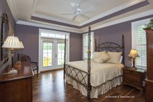 House Design - Ranch Interior - Master Bedroom Plan #929-1005
