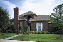 Dream House Plan - European Exterior - Front Elevation Plan #410-198