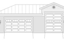 Country Exterior - Front Elevation Plan #932-142